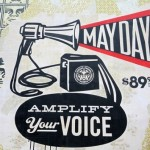 Shepard Fairey's studio during May Day