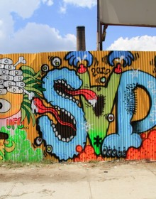 907 ufo sadue graffiti brooklyn nyc