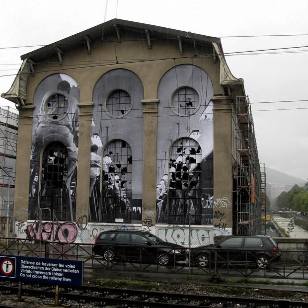 JR graffiti