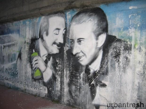 Corelli Saini graffiti street art Milano