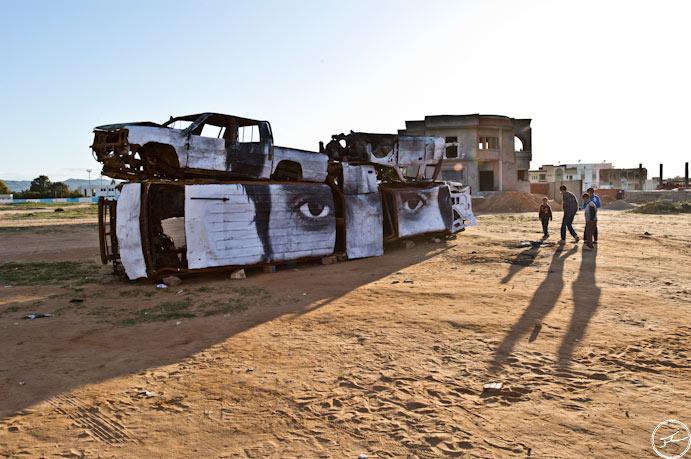 Artocracy in Tunisia by JR-3