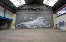 Phlegm street art graffitiv
