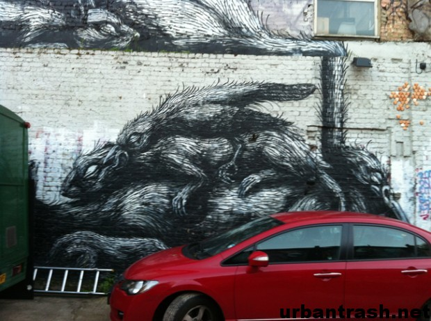 ROA graffiti londra london