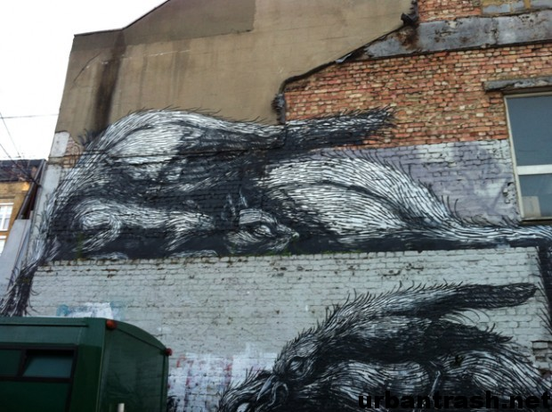 roa london graffiti street art londra