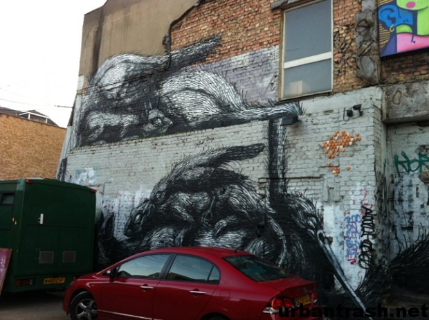 ROA GRAFFITI street art london londra